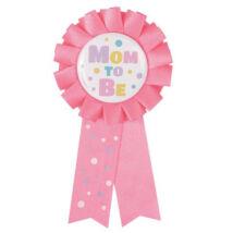 Anya leszek rózsaszín kitűző